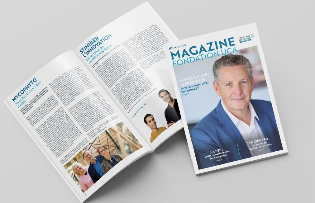 Fondation UCA - Magazine